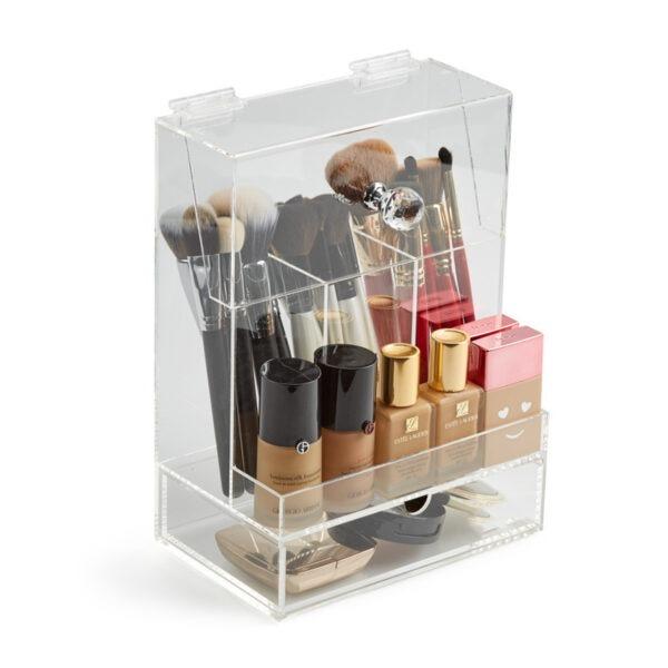 2 Impressive Brush Storage Boxes With Lid | Acrylic Storage