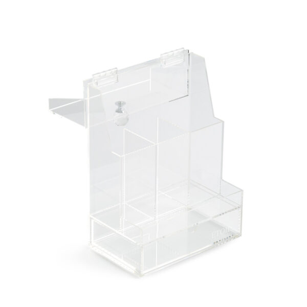 2 Impressive Brush Storage Boxes With Lid | Acrylic Storage Containers