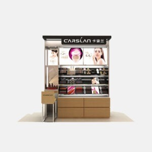 Attractive Cosmetic Display Shelf | Cosmetic Display Units