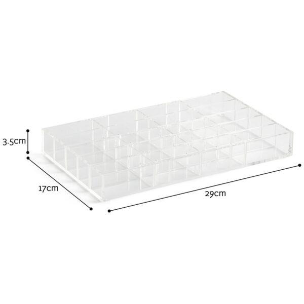 Elegant Acrylic Display Box | Storage Plastic For Cosmetics