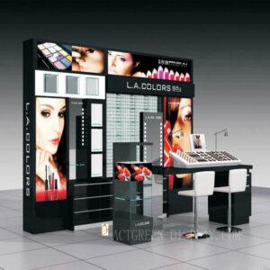 Elegant Cosmetic Shop Display Counter | Top Makeup Counter Display