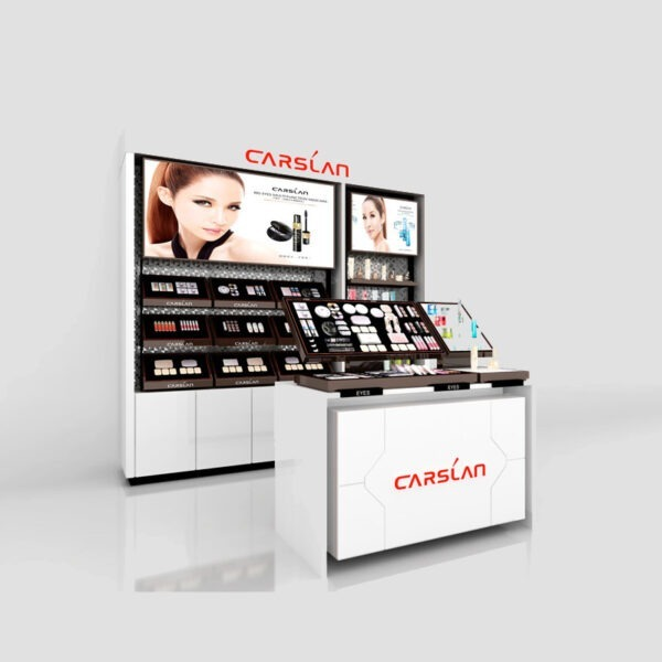 Gorgeous Cosmetic Display Counter | Cosmetic Store Display
