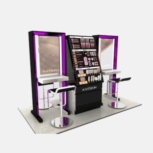 Gorgeous Cosmetic Display Units | Top Makeup Display Table