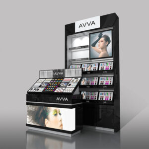 Impressive Cosmetic Counter Display | Top Makeup Retail Display
