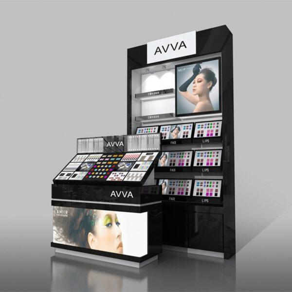 Impressive Cosmetic Counter Display | Top Makeup Retail Display