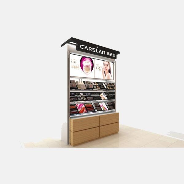 Impressive Makeup Store Display | Cosmetic Display Showcase