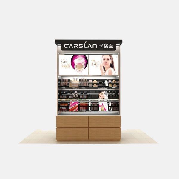 Impressive Makeup Store Display | Cosmetic Retail Display