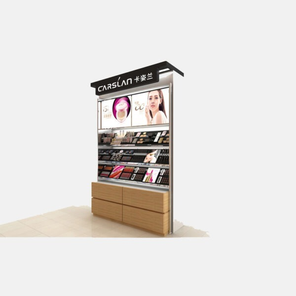 Impressive Makeup Store Display | Cosmetic Shop Display