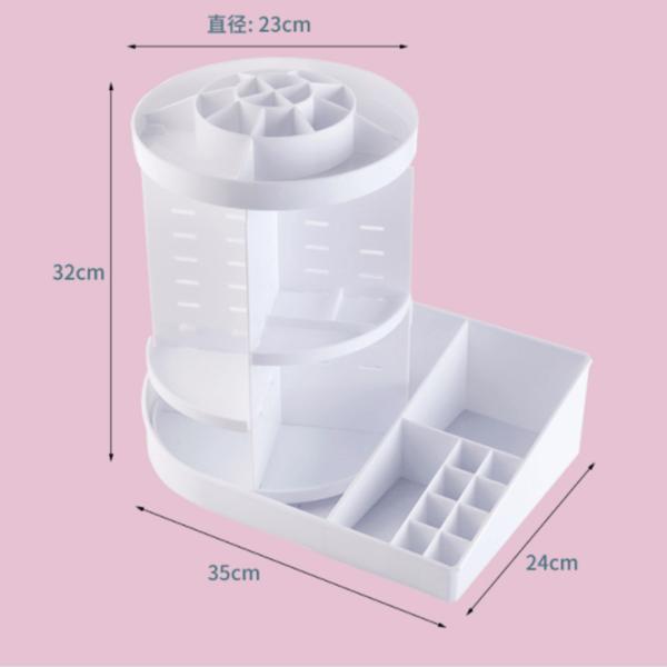 Impressive Rotatable Plastic Storage Containers | Acrylic Storage