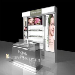 Luxury Makeup Counter Display | Top Cosmetic Display Shelf