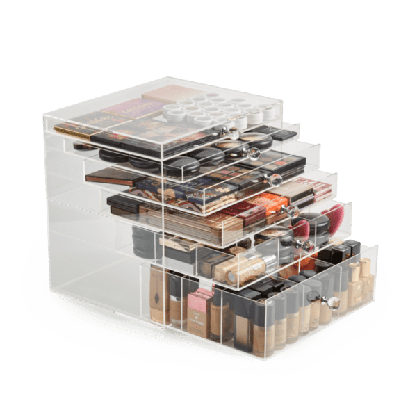 Luxury Plastic Box | Top Cosmetic Organizers for Makeup