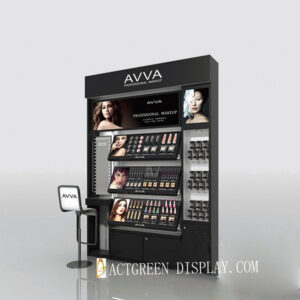 Magnificent Cosmetic Display Showcase | Makeup Display Shelf