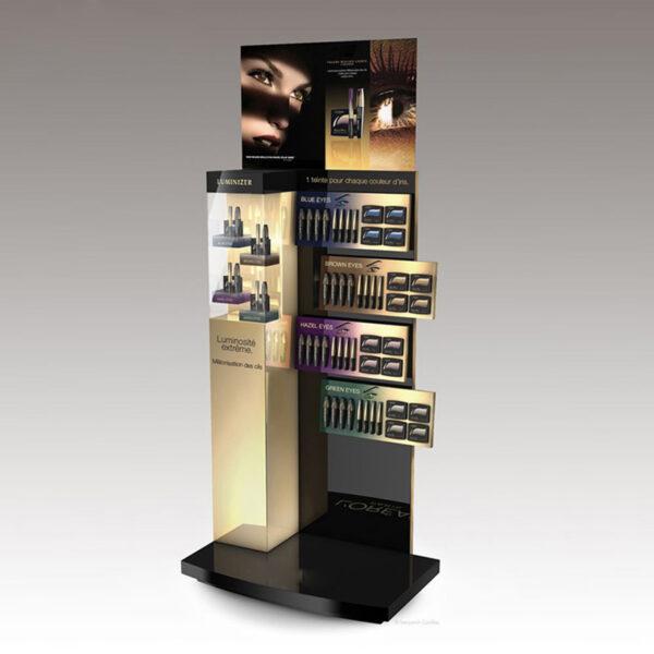Magnificent Makeup Retail Display | Acrylic Cosmetic Display
