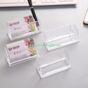 Luxury acrylic card stand | stationery display