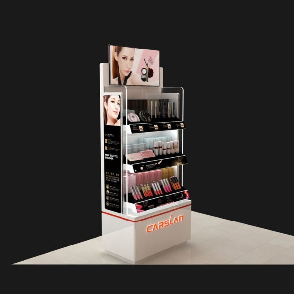 Premium Cosmetic Retail Display | Makeup Counter Display