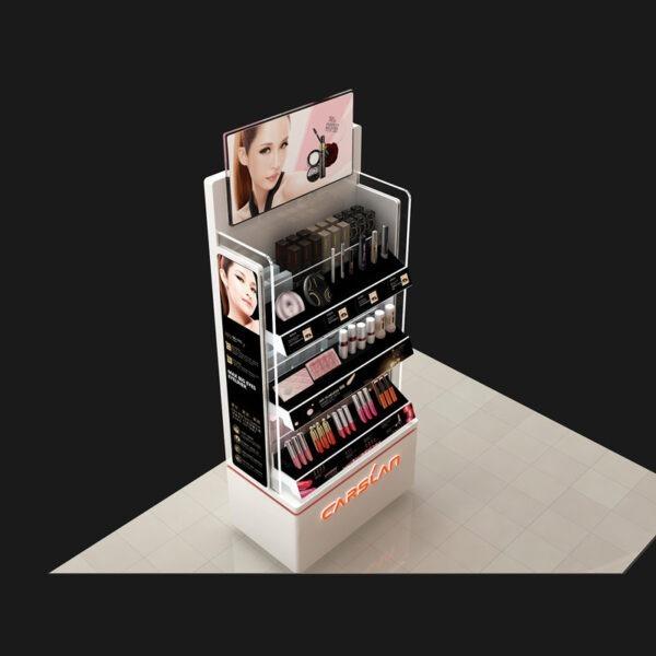 Premium Cosmetic Retail Display | Makeup Retail Display