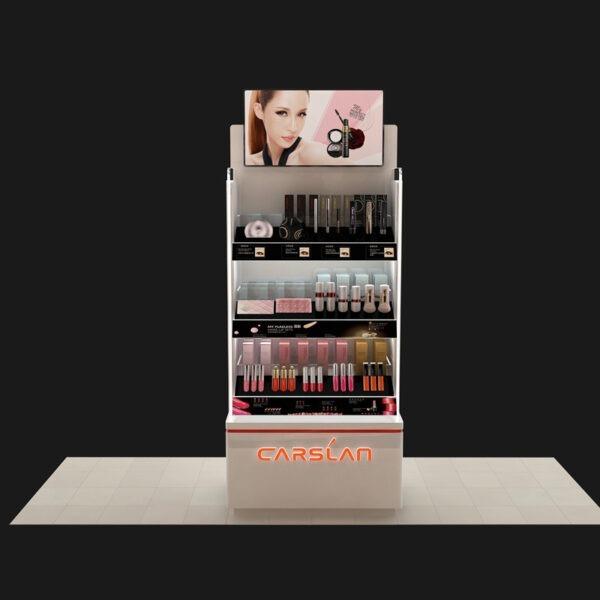 Premium Cosmetic Retail Display | Professional Makeup Display
