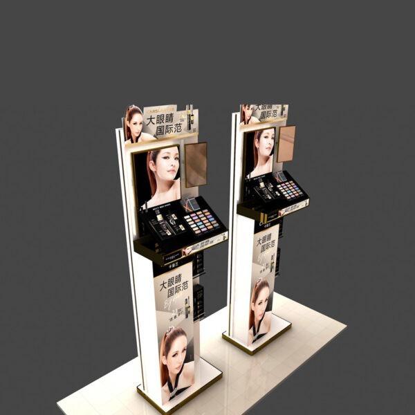 Premium Cosmetic Store Display | Makeup Counter Display