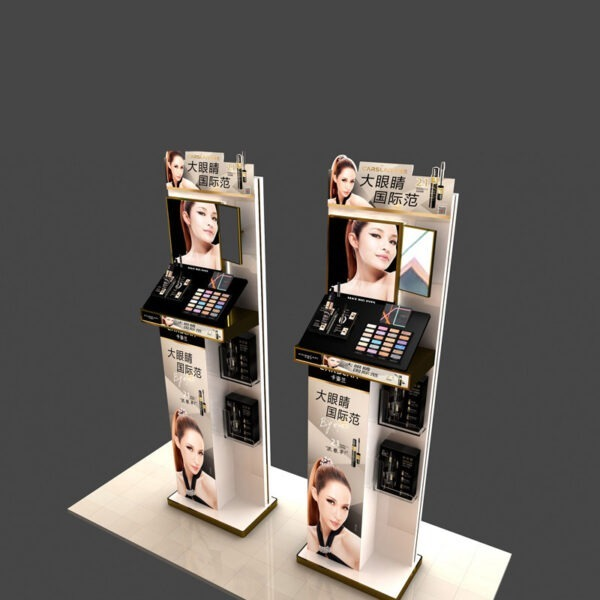 Premium Cosmetic Store Display | Makeup Retail Display