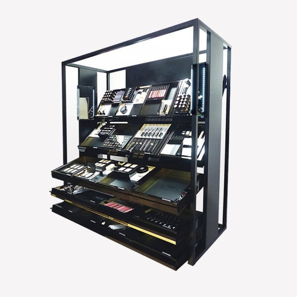 Premium Makeup Display Shelf | Best Cosmetic Shop Display