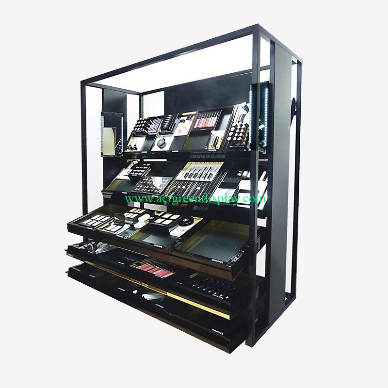 Premium Makeup Display Shelf | Best Cosmetic Shop Display