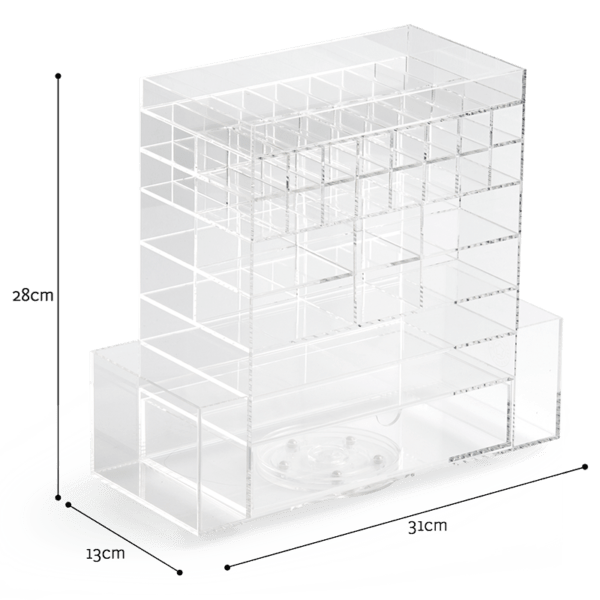 Significant Plastic Drawer Organizer | Acrylic Drawer Organizers