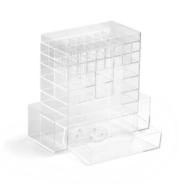Significant Plastic Drawer Organizer | Acrylic Makeup Containers
