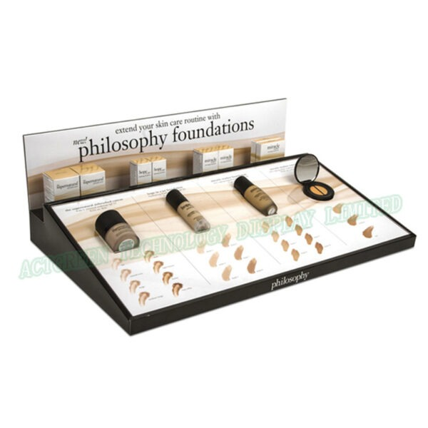 Top Plexiglass Display Case | Acrylic Cosmetic Display