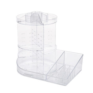 Top Rotatable Plastic Storage Containers | Acrylic Storage