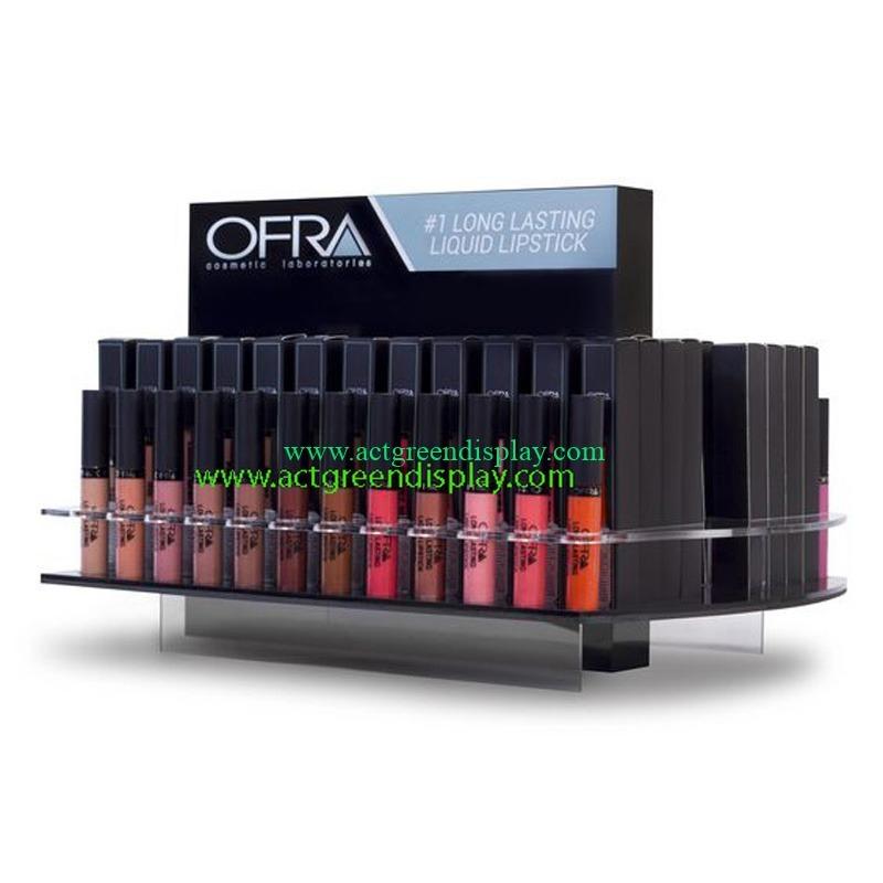 Top acrylic lipstick display stand | Makeup Display