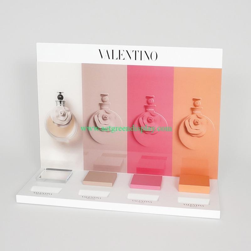 luxury acrylic perfume bottle display