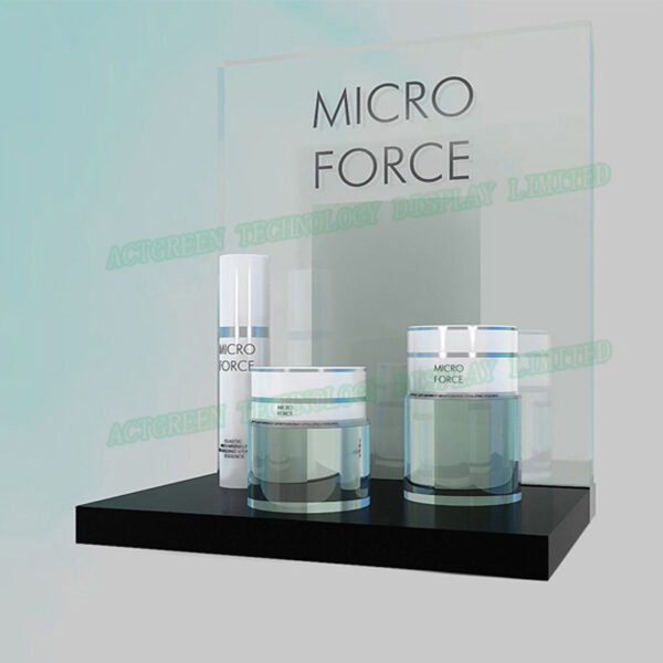 Buy Luxury Acrylic skin care Display Stands | Acrylic Skincare Display
