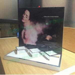 Luxury Acrylic Countertop Display Case Top Acrylic Display