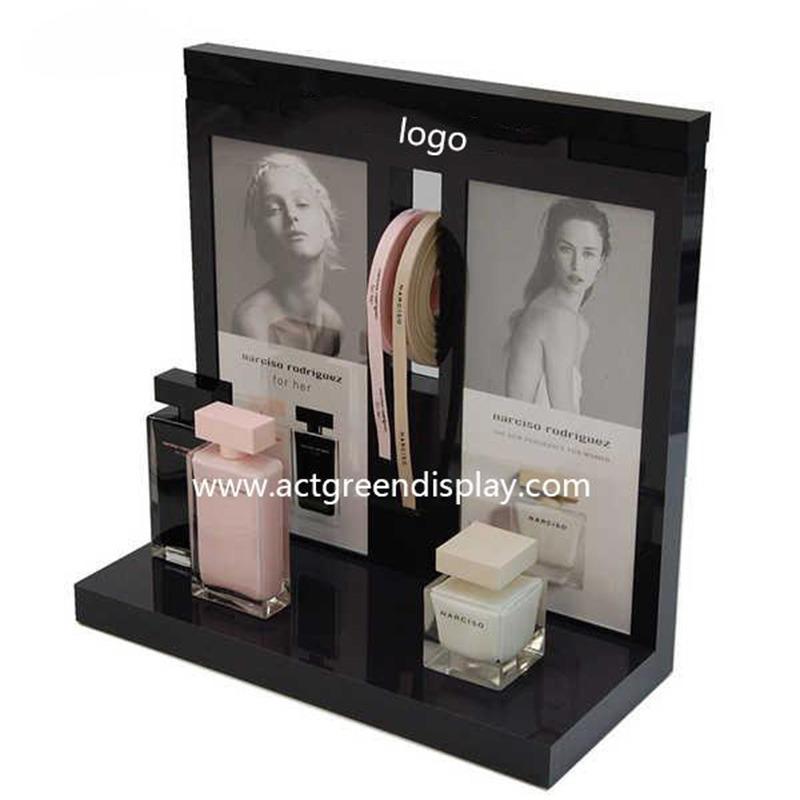 Custom Perfume Display Stand with Luxury Perfume Display Ideas
