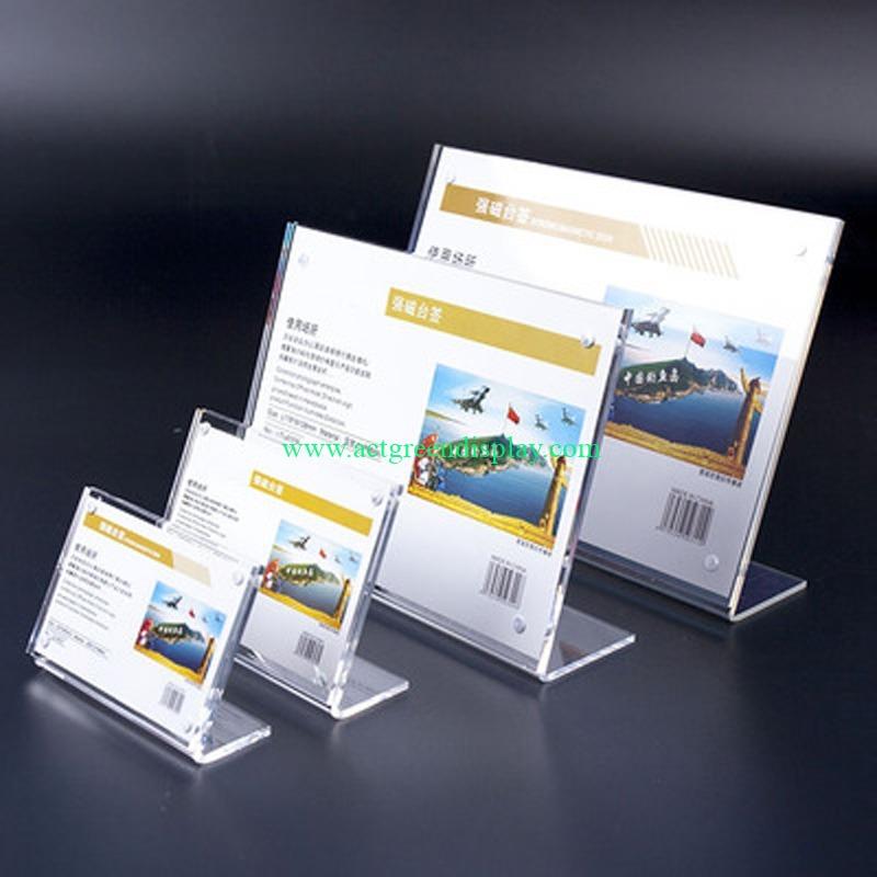 Bespoke Acrylic Brochure Holder | Luxury Plastic Brochure Display Stand