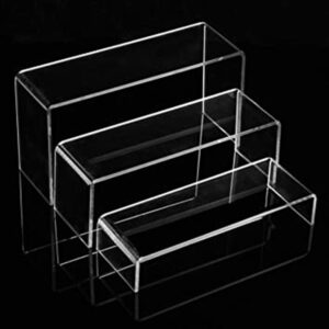 Modern Clear Plastic Display Shelves | High End Acrylic Display Stand