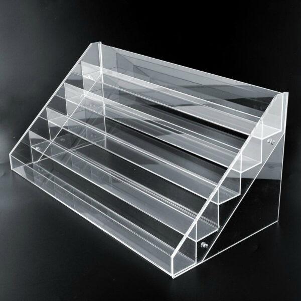 Luxury Acrylic Nail Polish Counter Display | Clear Acrylic Nail Polish Display Rack