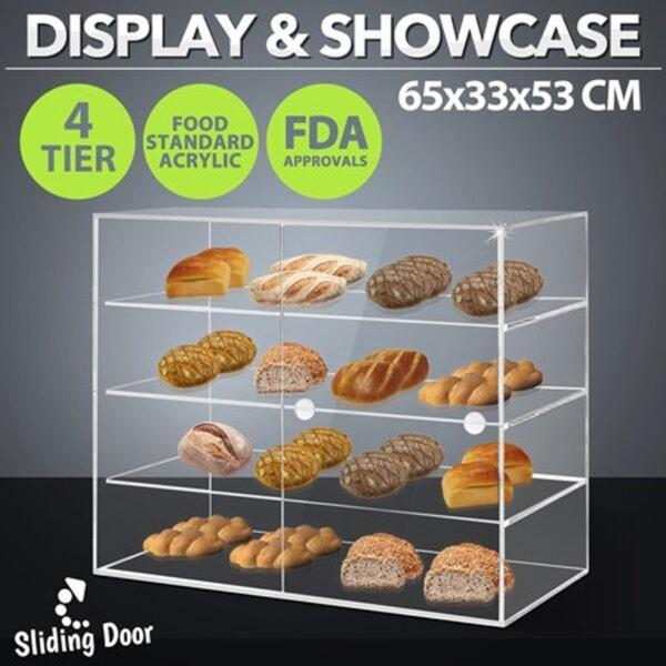 Luxury Pastry Display Cases | Custom Acrylic Bread Display