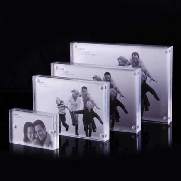 Luxury Acrylic Photo Frame Magnetic For Acrylic Photo Frame Block