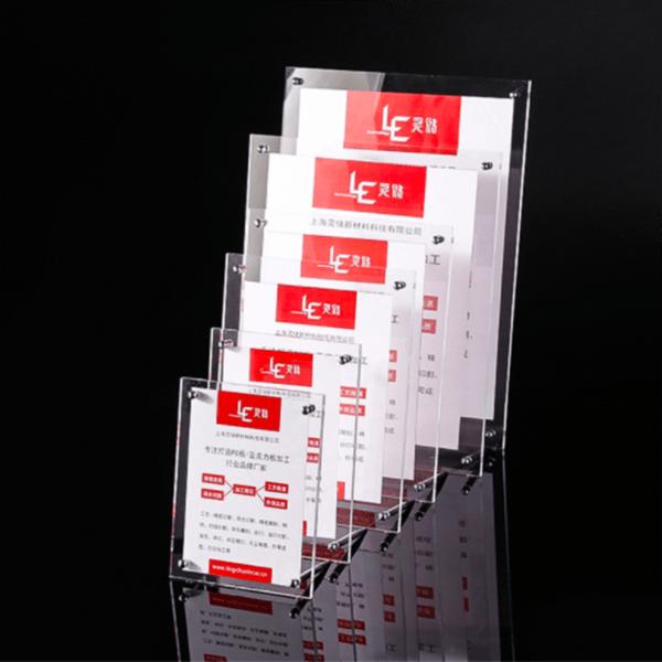 Luxury Acrylic Photo Frames Magnetic   Top Acrylic Photo Frame Block