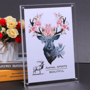 Luxury Acrylic Photo Frames Wall Mount For Top Acrylic Sign Holder For Wall