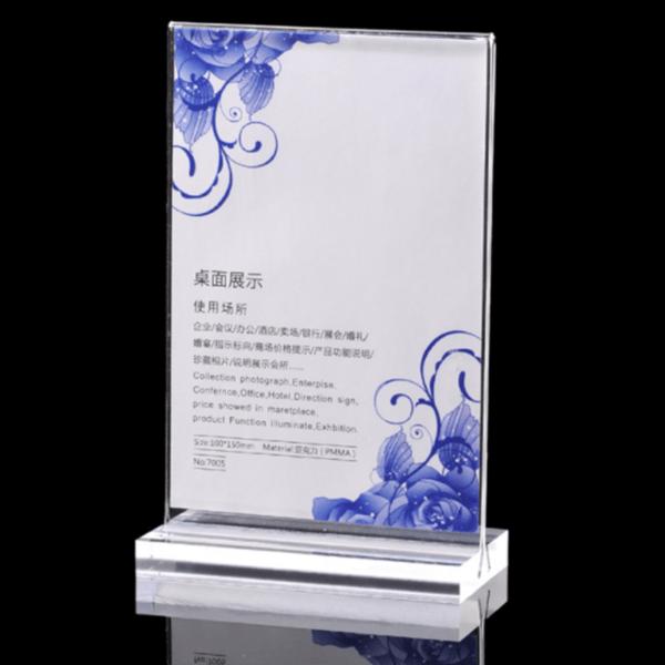 Luxury Acrylic Sign Holders 11x17   Best Acrylic Sign Holder