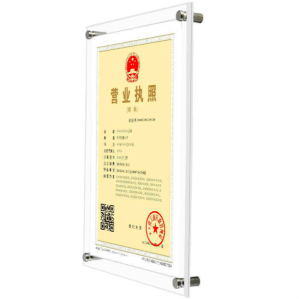 Unique Acrylic Photo Frames Wall Mount For Top Acrylic Sign Holder For Wall